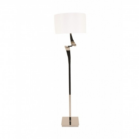 Enzo floorlamp Nickel finish H=153 cm