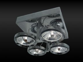 verlichting maretti chique 4 spots chrome van lighting
