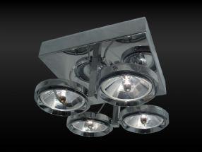 verlichting maretti chique 4 spots chrome van lighting